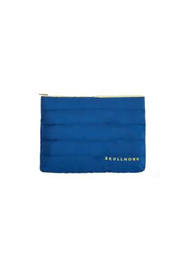 [5%할인/SKULL HONG] SKULL HONG PADDING POUCH (BLUE)