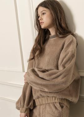 [5%할인/CAHIERS] Soft hair sweater