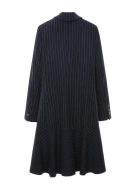 ◈ Stripe Flare Coat[10%]