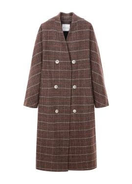 ◈Overfit Check Coat