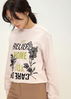 캐주얼 프린트 티셔츠 [60%]