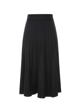 Pleats Knit Skirt