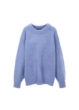 Pastel Round Neck Pullover