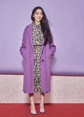 ◈Drop Shoulder Sleeve Strap Handmade Long Coat[신혜선착용][30%]