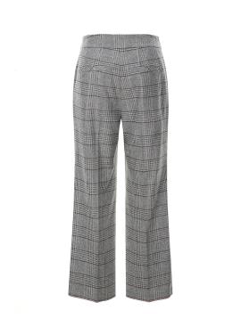 ◈Check Pattern Semi-wide Wool Pants