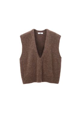 Deep V Neck Trendy Vest