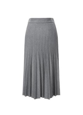 ◈Accordion Pleats Long Skirt