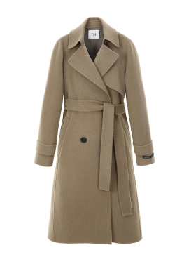 ◆Wool Blended Robe Hand Made Coat [주문폭주]