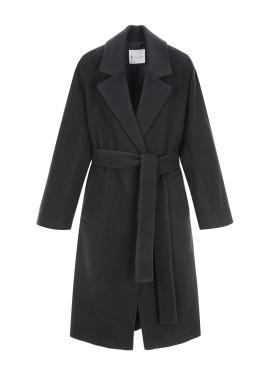 ◈Robe Wool Cashmere Blended Handmade Coat [30%]