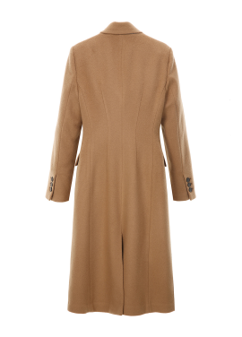 ◈Tailored Double Wool Cashmere Coat