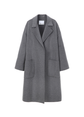 Cashmere Blended Wool Coat
