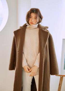 [10%쿠폰] Teddy Bear Fur Coat [주문폭주/3차리오더]