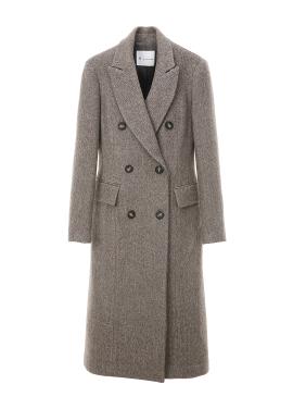 ◈Slim Fit Double Coat[주문폭주] [10%]