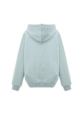 ◈Lettering Bold Strap Cotton Hood