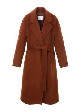 ◈Robe Wool Cashmere Blended Handmade Coat
