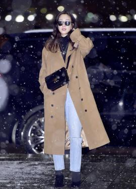 ◈Oversized Wool coat [정려원 공항패션][예약판매]