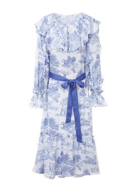 뜨왈드주이 러플 리본 드레스 [40%]