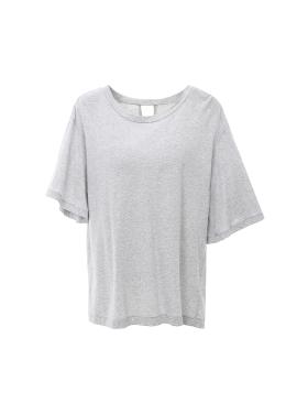 언발란스 소매 티셔츠 [40%]