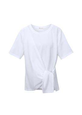 허리 꼬임 티셔츠 [10%]