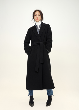 [Exclusive] 캐시미어 핸드메이드 코트