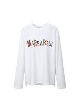 마라케시 레터링 티셔츠 [10%]