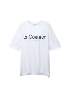 마라케시 레터링 티셔츠