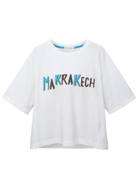 마라케시 크롭트 티셔츠