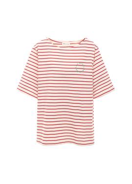 [아티스트프루프] 스트라이프 보트넥 티셔츠