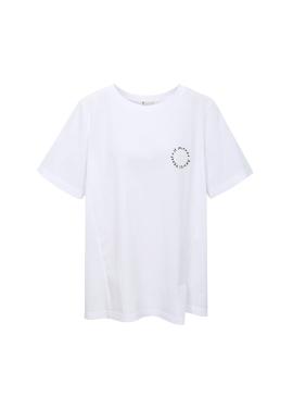 [아티스트프루프] 밑단 절개 포인트 티셔츠
