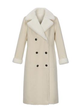 리버서블 에코 무스탕 코트