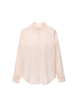 [Exclusive] 프릴 베이직 셔츠