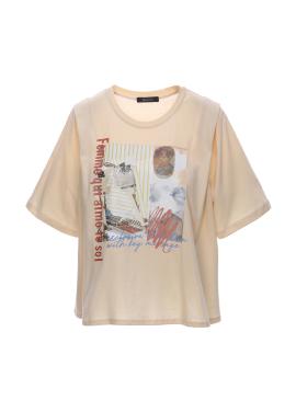 빈티지 프린트 티셔츠