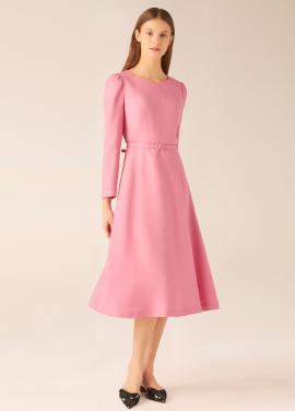 하트넥 드레스