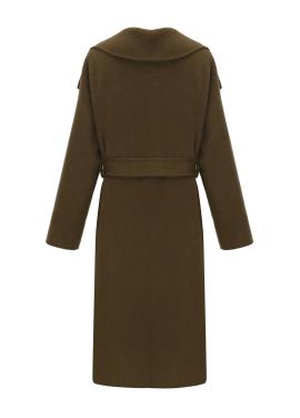 캐시미어 오버핏 핸드메이드 코트