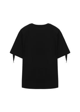 진주 레터링 티셔츠