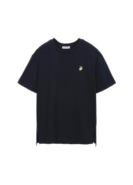 레몬 자수 티셔츠