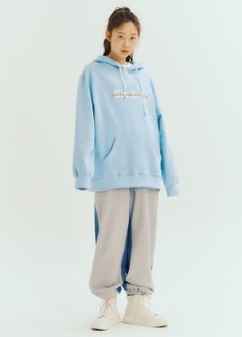 [Exclusive][RUE DE IT][남녀공용]유니섹스 후드 티셔츠