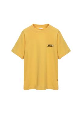 [Exclusive][RUE DE IT][남녀공용] 유니섹스 반소매 프린트 티셔츠
