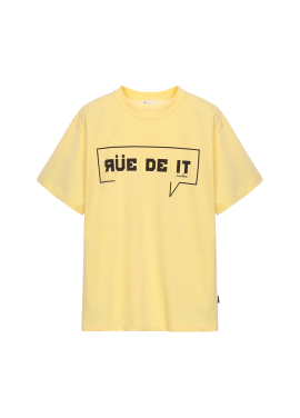 [Exclusive][RUE DE IT] 내추럴 코튼 티셔츠