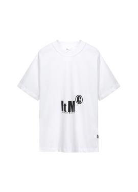 [Exclusive][RUE DE IT][남녀공용] 그래픽 포인트 티셔츠