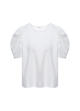 [Exclusive][RUE] 퍼프소매 티셔츠