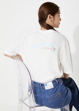 레터링 티셔츠