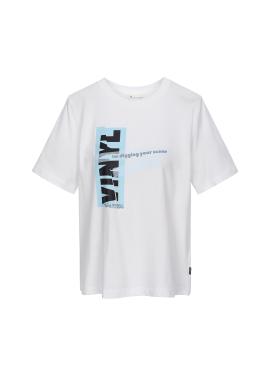 컬러 그래픽 티셔츠