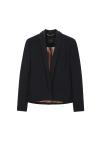 Short Blazer Wool Jacket