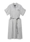 Stripe Big Pocket Dress