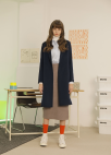 ◆Wool Cashmere Blended Hand Made Coat