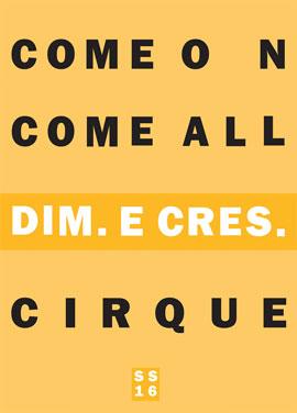 DIM. E  CRES 16S/S LOOKBOOK
