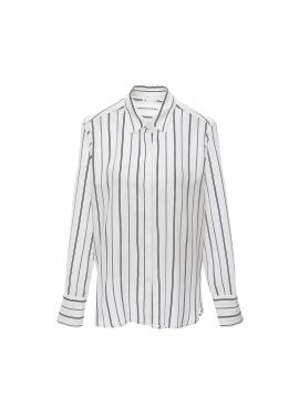 [잇미샤몰단독][10%쿠폰]스트라이프 셔츠 블라우스
